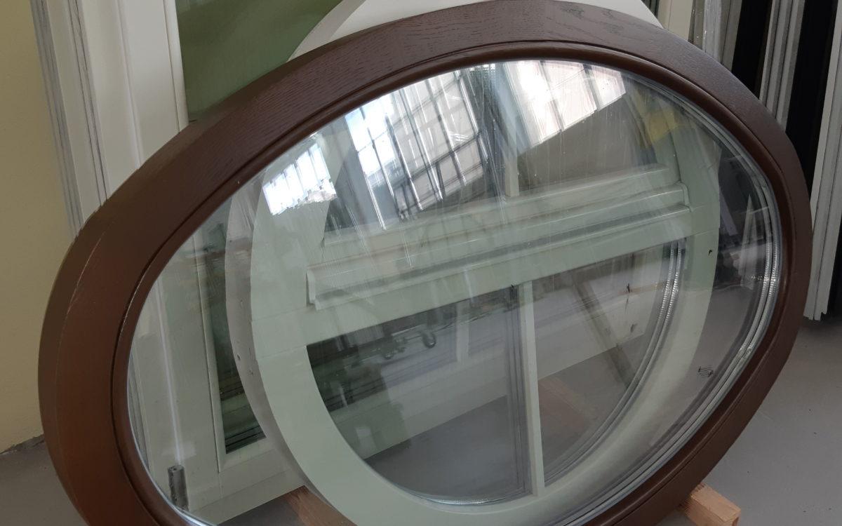 Деревянные окна нестандортных форм