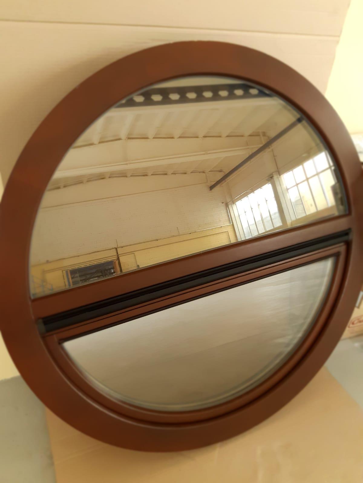 Изготовление круглых деревянных окон