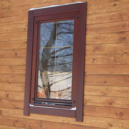 Деревянные окна компании Holzland