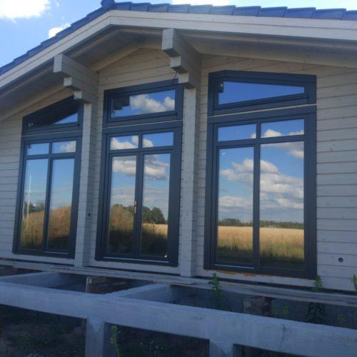 Деревянные окна торговой марки Holzland